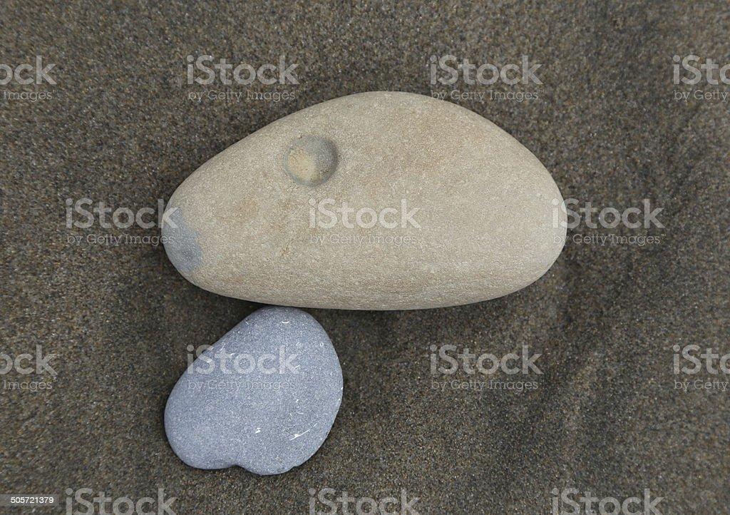 Natural Pebbles stock photo