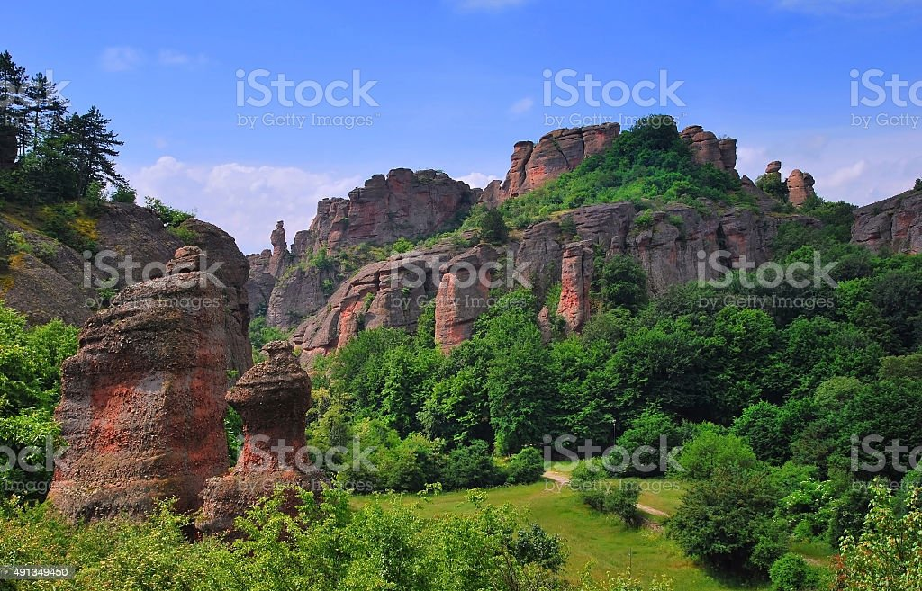 Natural phenomenon in Bulgaria stock photo