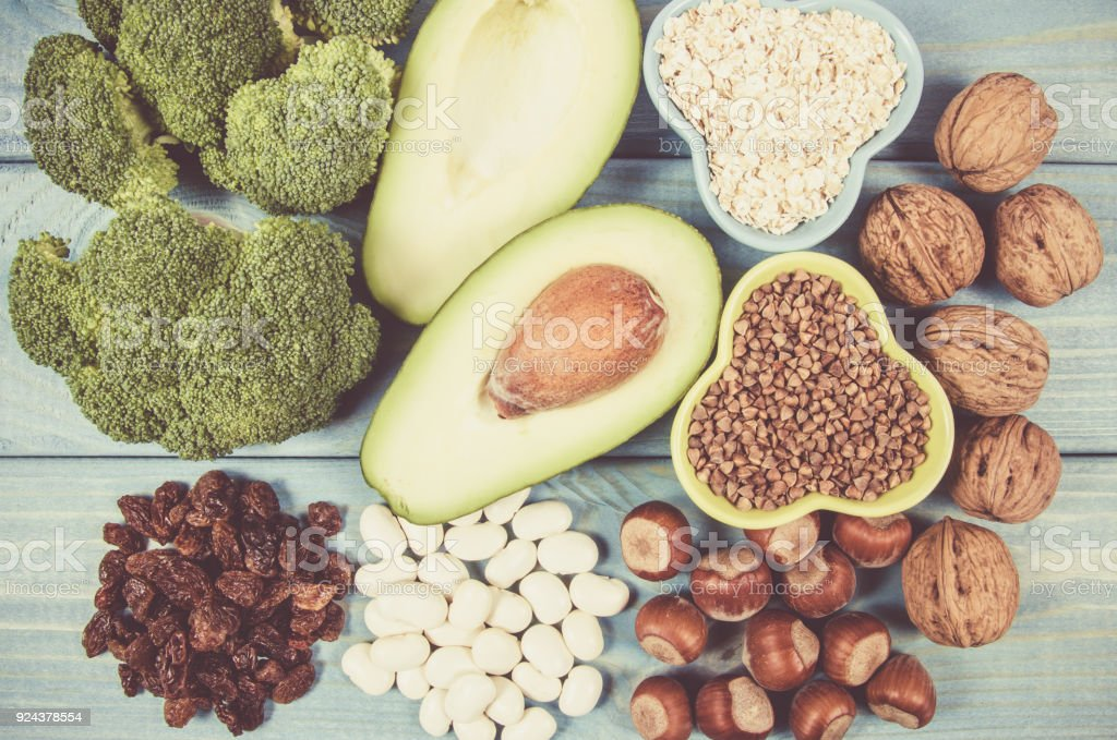 Ingredients or products containing vitamin B6 and dietary fiber,...