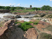 istock Natural Red Rocks at Sioux Falls Park, South Dakota 524998701