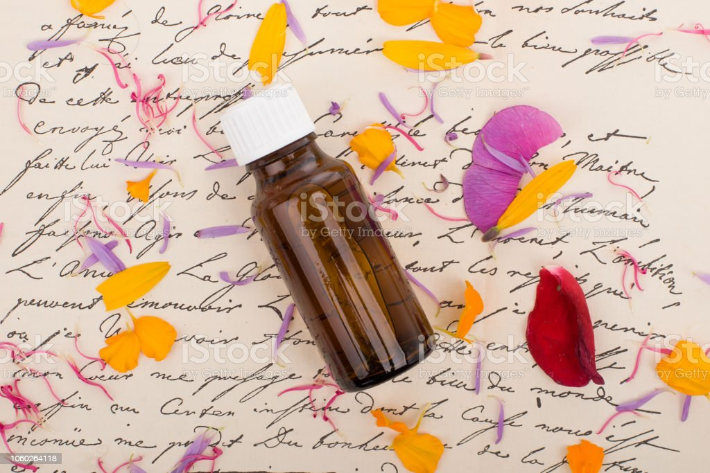 Natural Remedies Aromatherapy Bottle Stock Photo & More