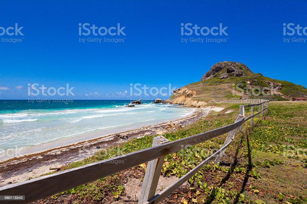 Natural Reserve Beach stock photo