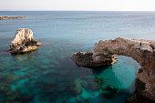 open Mediterranean Sea behind