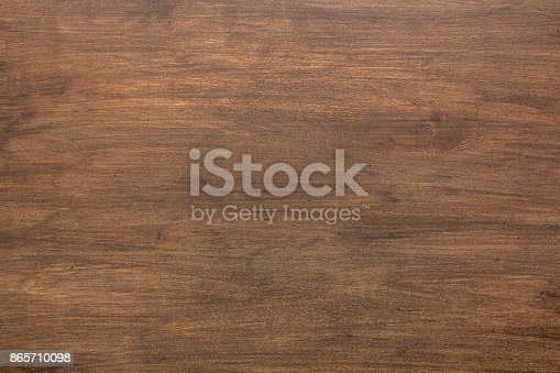 istock Natural rustic wood background and texture, copy space 865710098