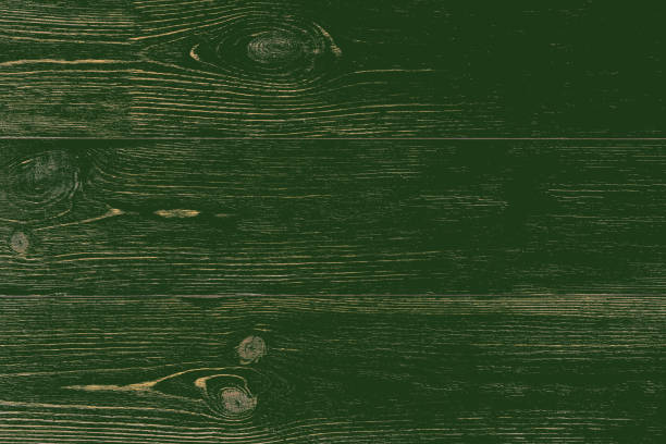 natural rustic wooden green planks texture - st patricks day background stock pictures, royalty-free photos & images
