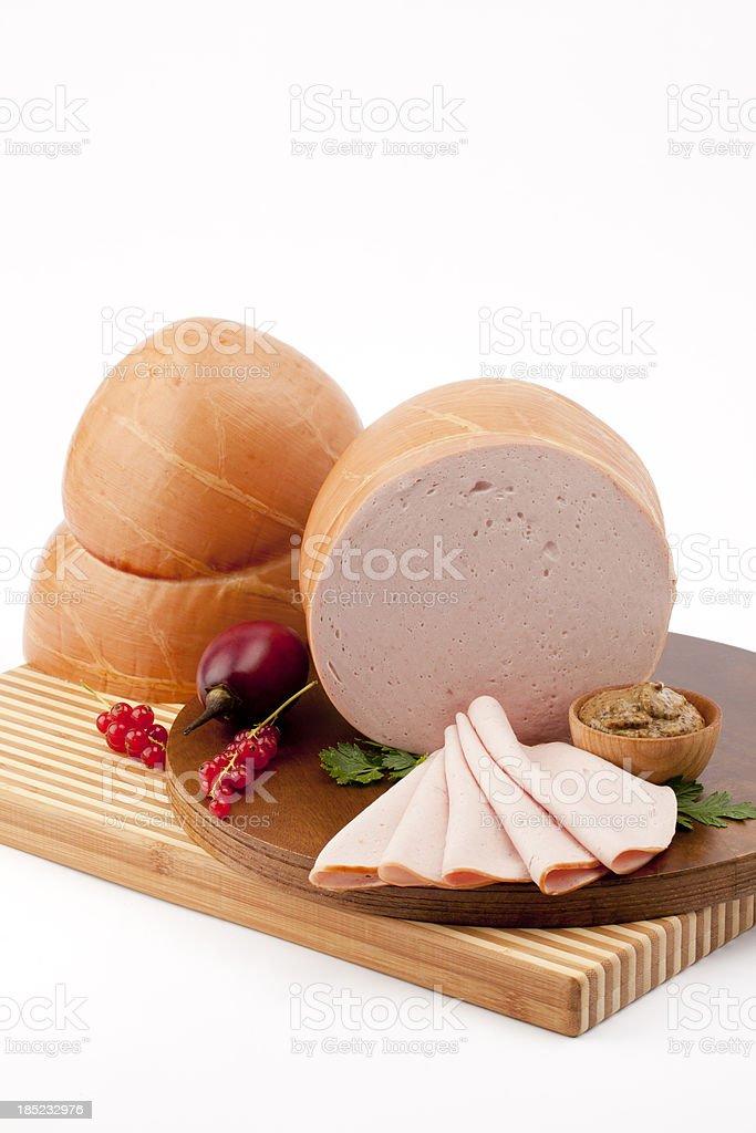 Natural Skin Bologna royalty-free stock photo