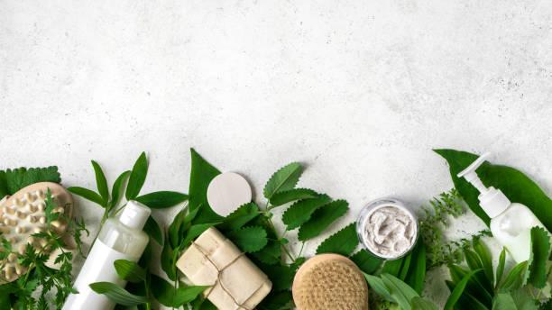 Natural skin care stock photo