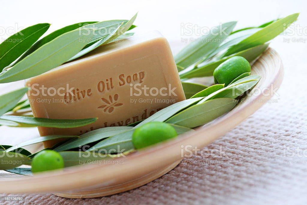 natural soap royalty-free stock photo