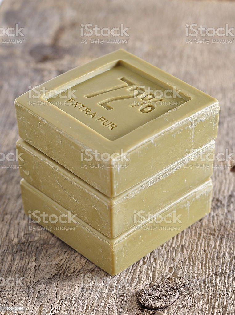 Natural Soap.Spa royalty-free stock photo