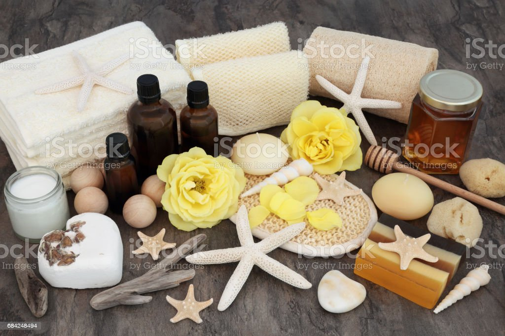 Natural Spa Body Treatment royalty-free stock photo