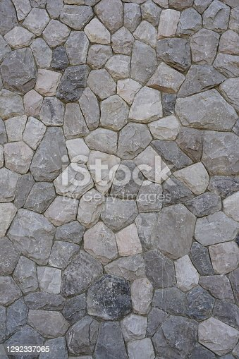 Close-up stone wall abstract texture background