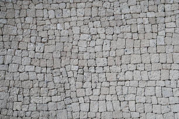 Natursteinmauer-Gesteinsteine – Foto