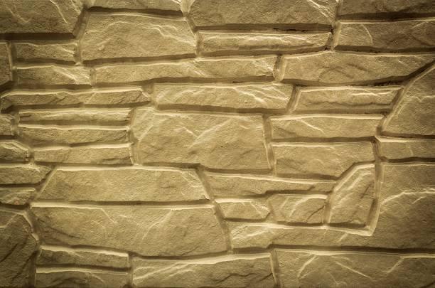 Naturalne kamienne ściany w nowoczesne wnętrze na – zdjęcie