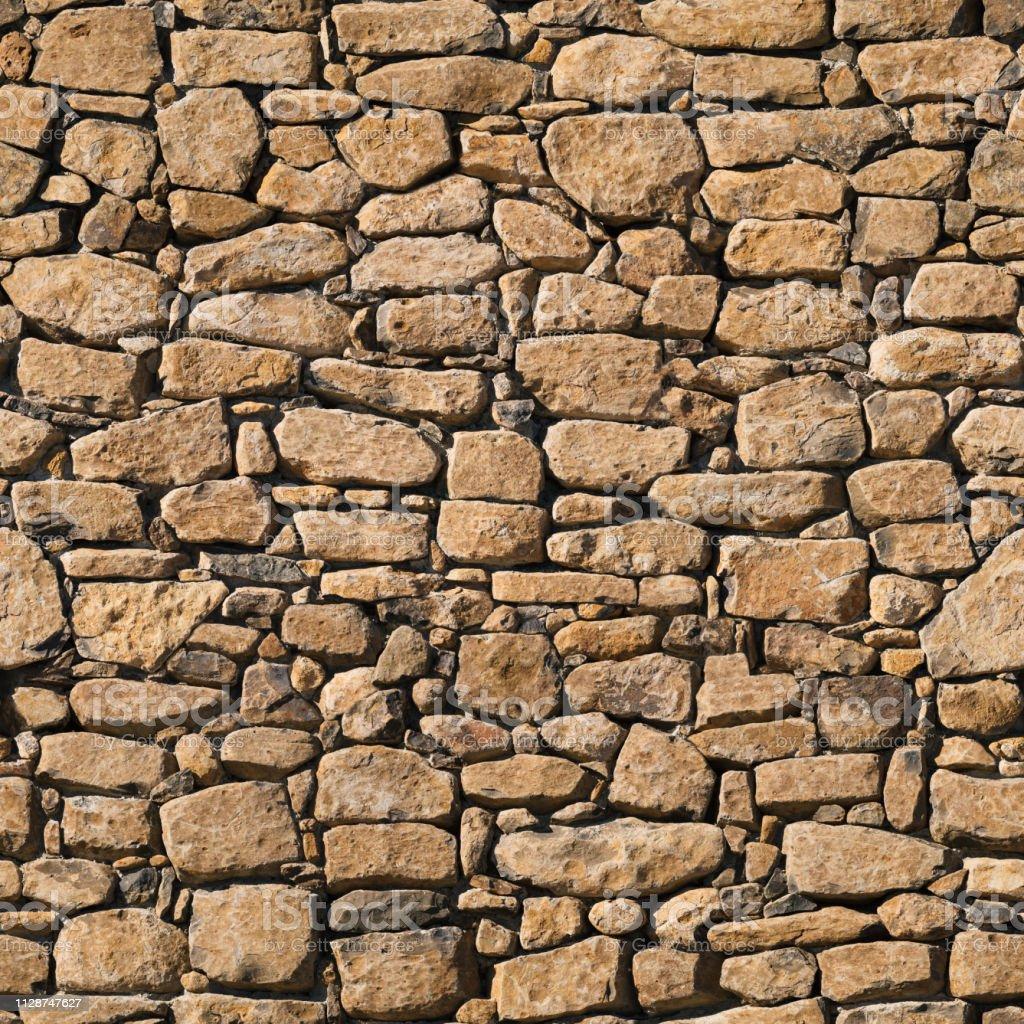 Mur En Pierre Naturelle photo libre de droit de tuile sans couture de mur en pierre