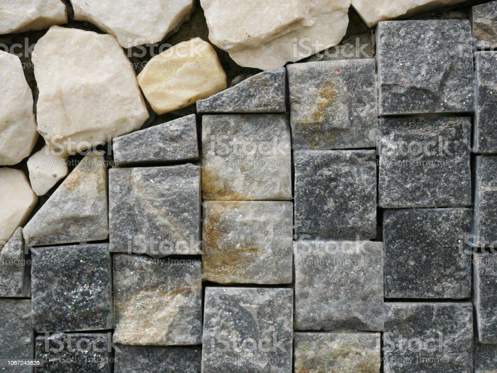 Mur En Pierre Naturelle photo libre de droit de texture de mur en pierre naturelle
