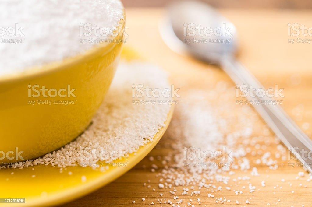 Natural sweetener sorbitol stock photo