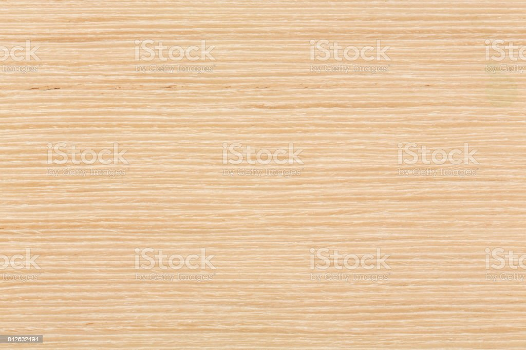 Natural texture of Oak veneer to use as background stock photo