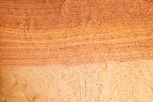Natural texture of red rocks. Colored canyon, Egypt, desert, the Sinai Peninsula, Nuweiba, Dahab.