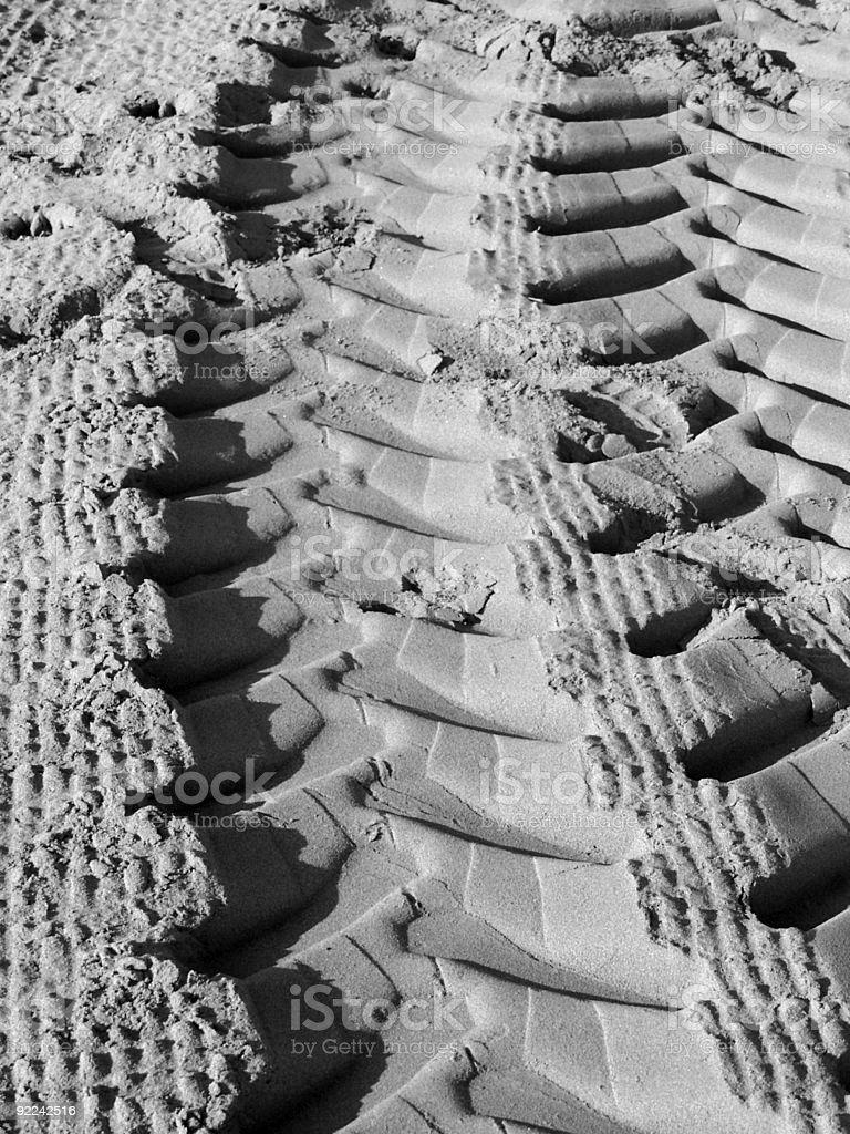 Natural texture; Sand royalty-free stock photo