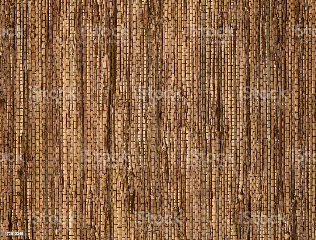 natural thatch fabric royalty-free stock photo