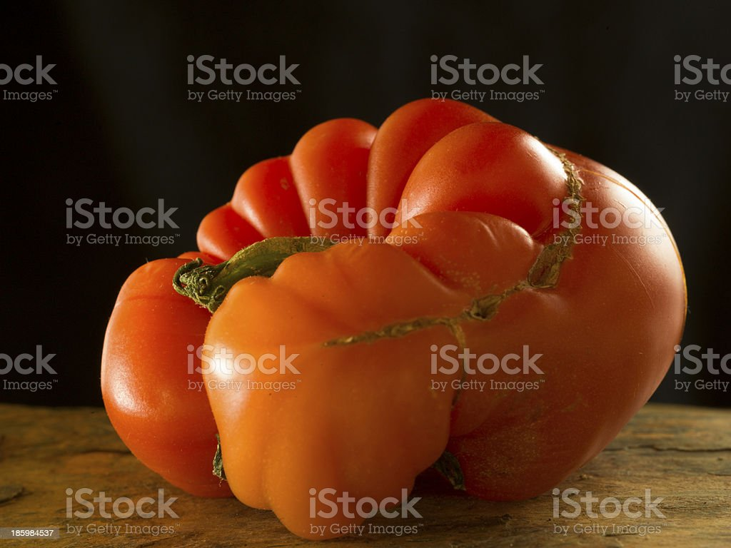 natural tomato stock photo