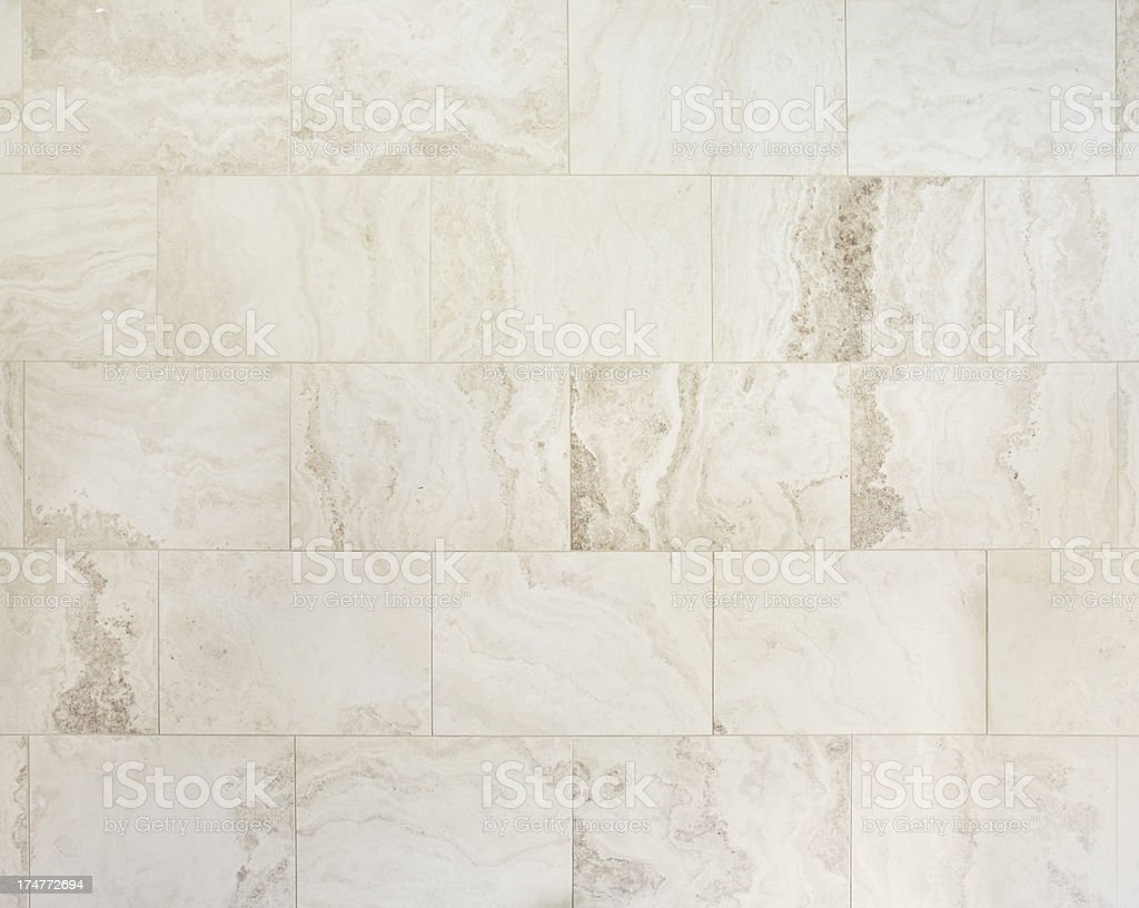 Travertino y azulejos naturales de piedra - foto de stock