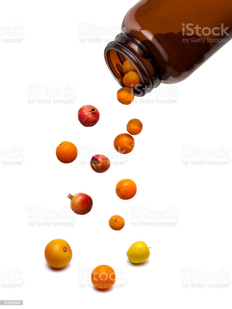 Natural Vitamins royalty-free stock photo