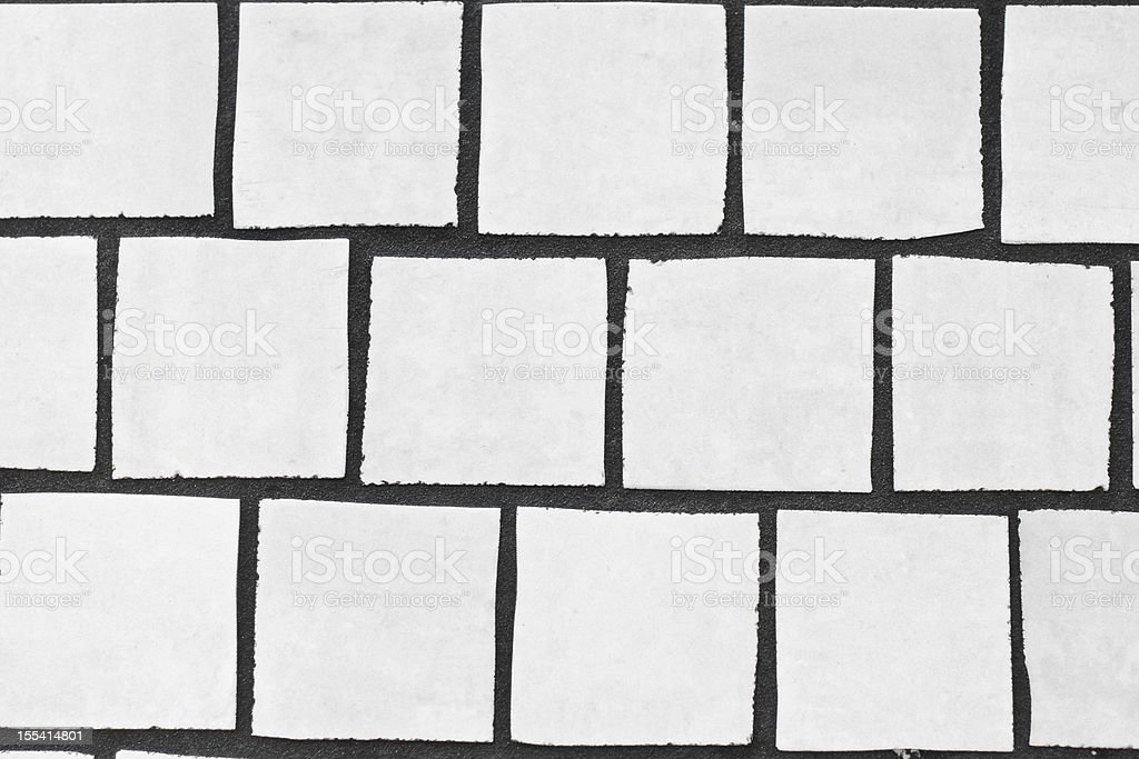 Natural white tiles royalty-free stock photo