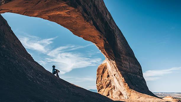 natural wonders of utah - natural landmark stock pictures, royalty-free photos & images