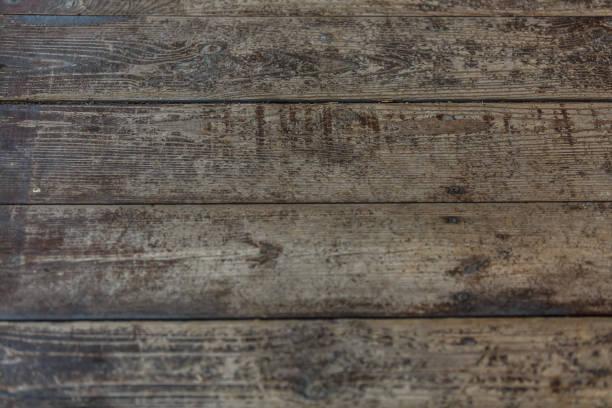 natürliche holzplatte plank panel horizontal schäbig wandbeschaffenheit. holz farbe vintage diy-hintergrund. holzoberfläche zurückfordern. hartholz grau boden oder tisch oder tür oder gußeisens struktur. closeup. textfreiraum - paletten kopfbrett stock-fotos und bilder