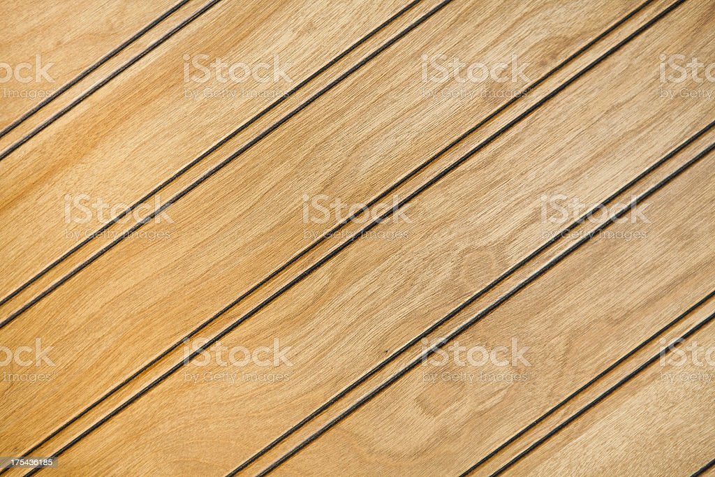 natural wood paneling with diagonal grain composition stock photo