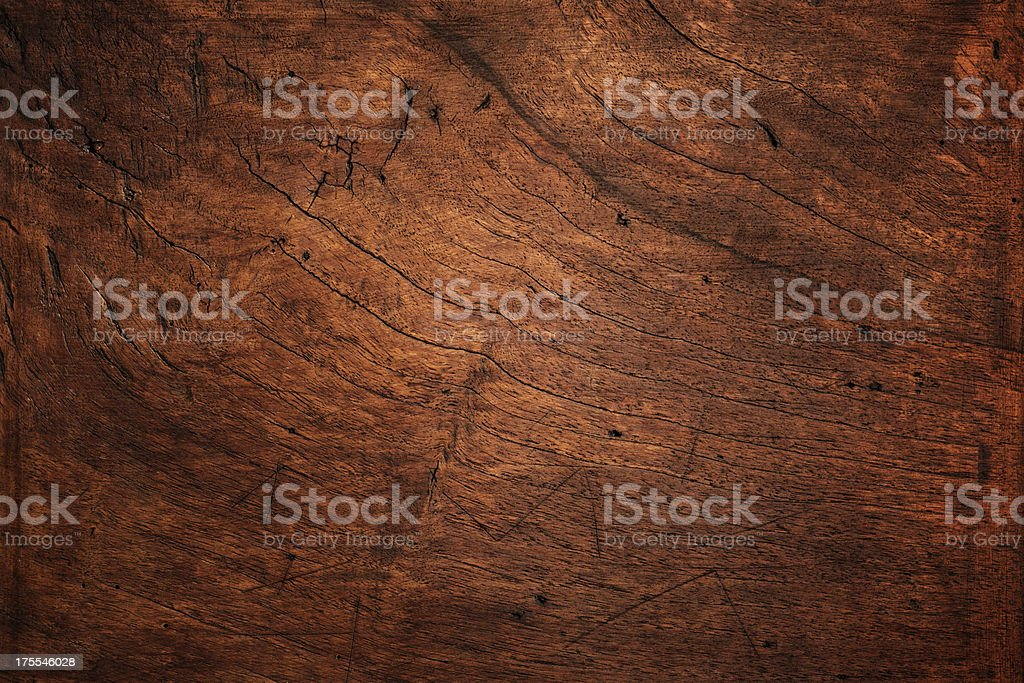 Natural wood texture background weathered, bad condition stock photo