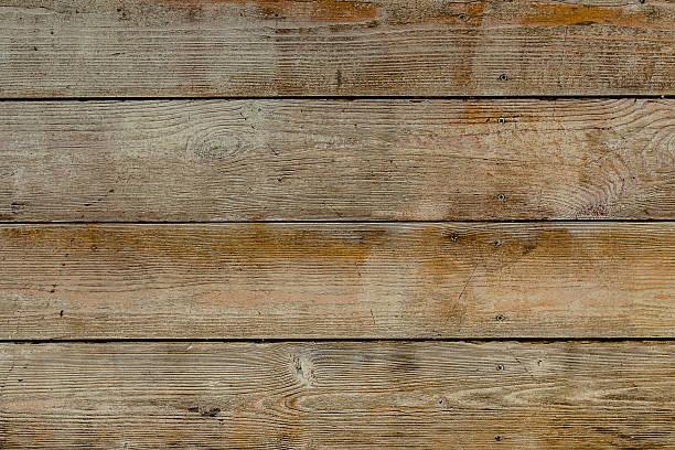 Natürlichem Holz, Brauntönen und Rostfarben Bretter, Wand mit Knoten – Foto
