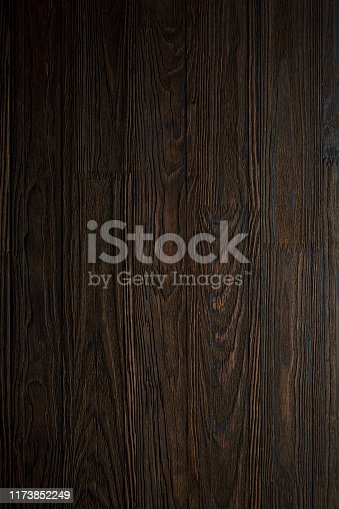 Natural wooden table. View from above. Wooden texture