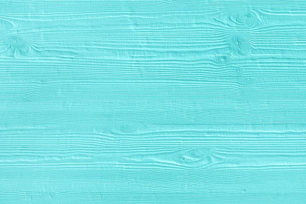 Natürliche Holz- Türkis-boards, Wand oder Zaun mit Knoten – Foto
