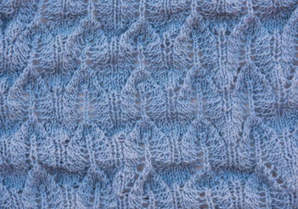 Natürliche Wolle Kleidung und Stoffe: Textil und Stoff Makro Foto – Foto