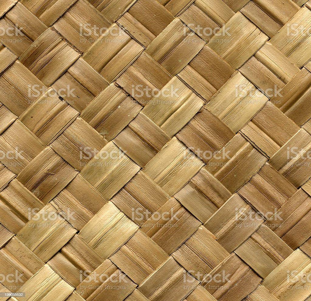 natural woven matting royalty-free stock photo