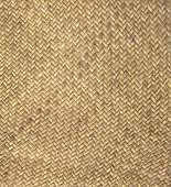 Natural woven rattan seamless textured