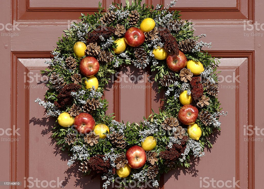 Natural Wreath II royalty-free stock photo