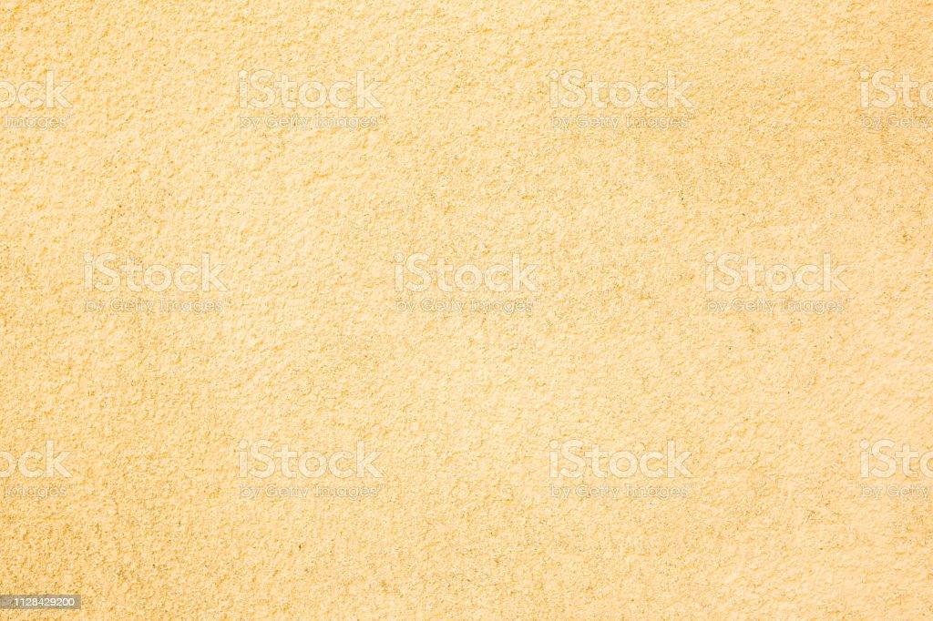 Natural yellow concrete texture background. stock photo