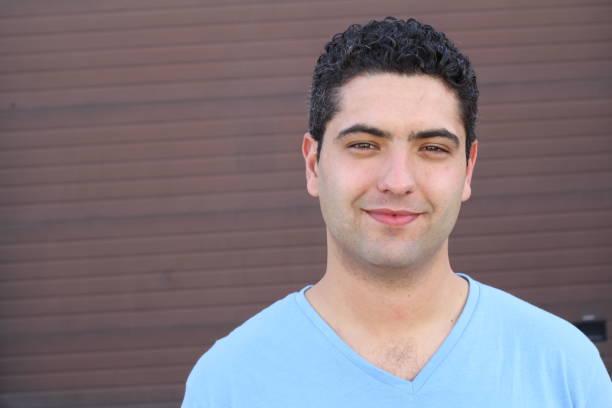 Natural young man smiling close up Natural young man smiling close up. armenian ethnicity stock pictures, royalty-free photos & images
