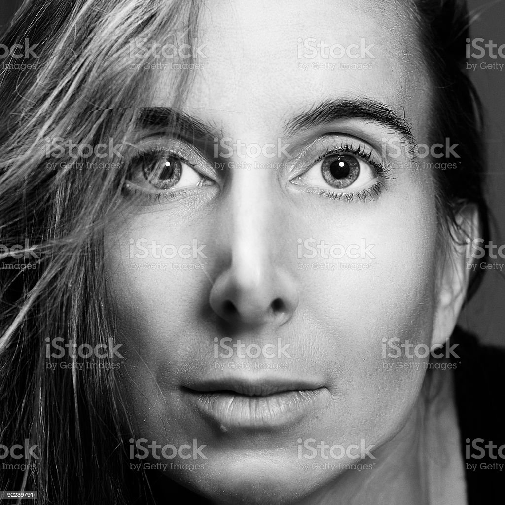 Naturally Beautiful Middle-Aged Woman royalty-free stock photo