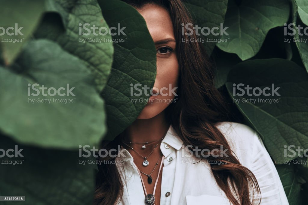 Naturally beautiful. stock photo