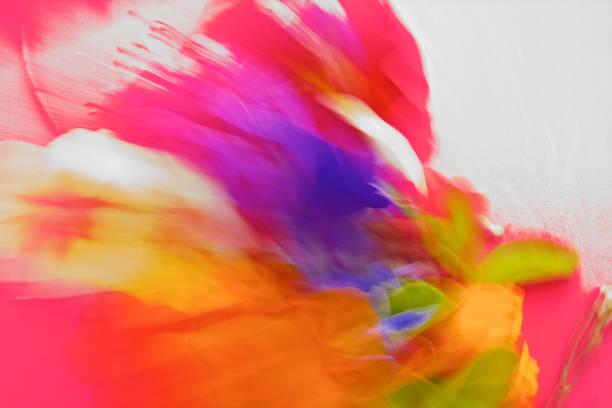 자연, 추상 활기찬, 대담한 색깔된 pantones - 매니큐어 화장품 뉴스 사진 이미지
