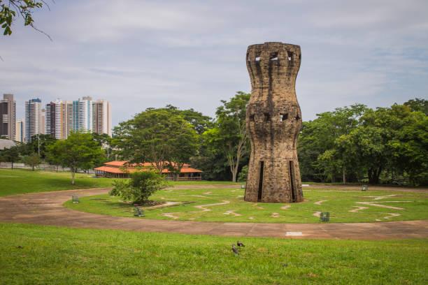 Nature and city - Parque das Nações Indígenas, Campo Grande, Mato Grosso do Sul, Brazil