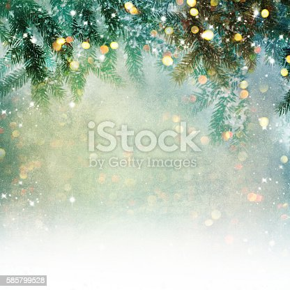 istock Nature background with lighten bokeh 585799528