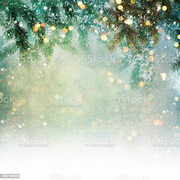 Nature background with lighten bokeh