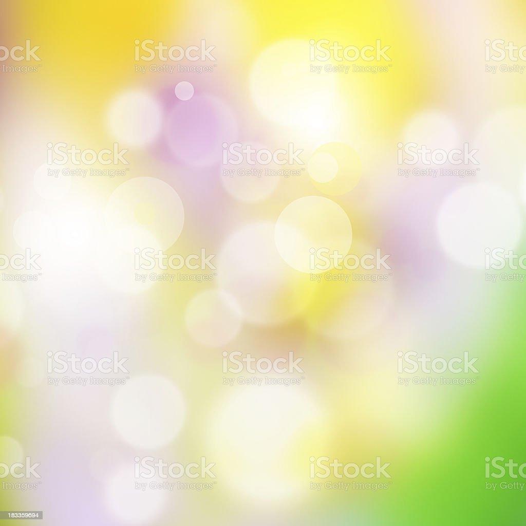Nature bokeh lights. royalty-free stock photo