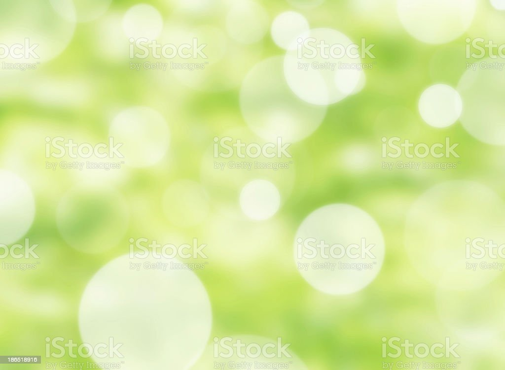 Nature bokeh lights royalty-free stock photo