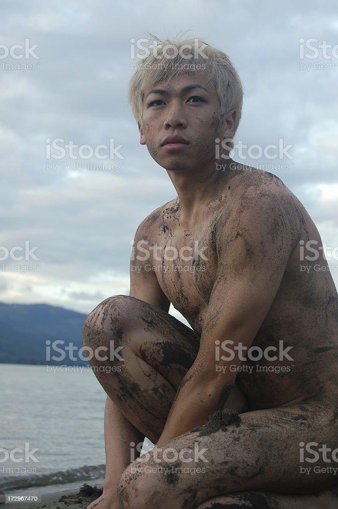 Nature Boy stock photo